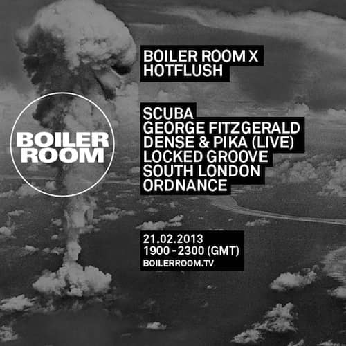 Boiler Room – Scuba b2b George Fitzgerald