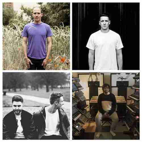 Listen New Music:  Mathew Jonson, Bicep, Hodge, Daphni