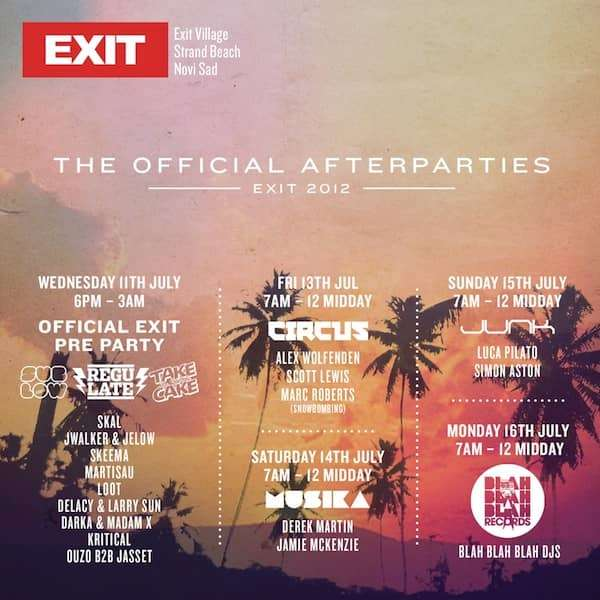 Blah Blah Blah does EXIT Festival