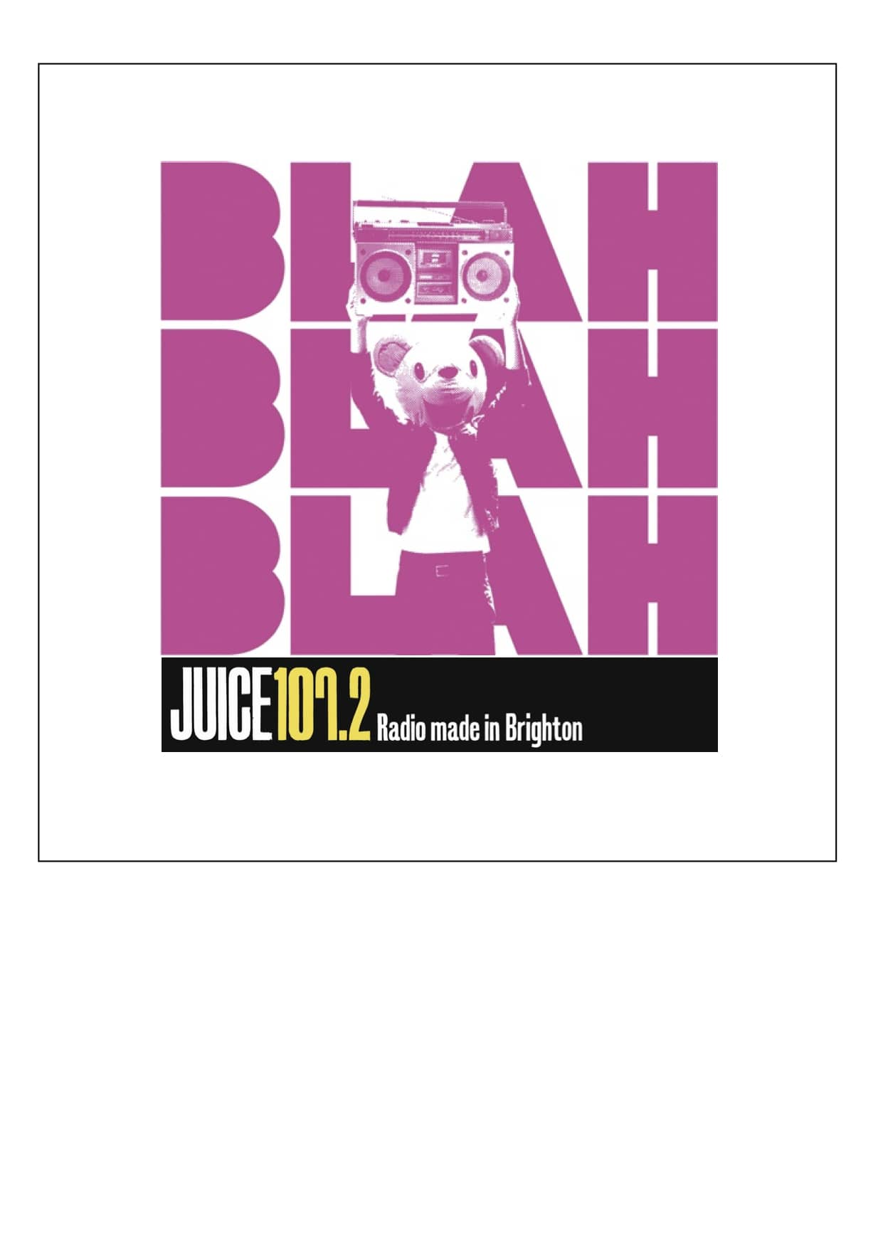 Blah Blah Blah Radio Show (Juice FM 107.2)