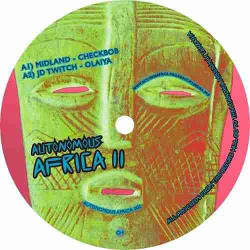 Midland & JD Twitch (Optimo) 12″ – Autonomous Africa EP