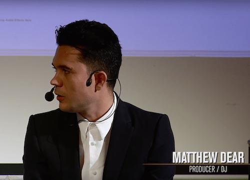 Matthew Dear Production Masterclass [Point Blank]