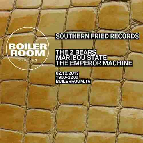 BOILER ROOM (Tonight) in Brighton with Southern Fried……