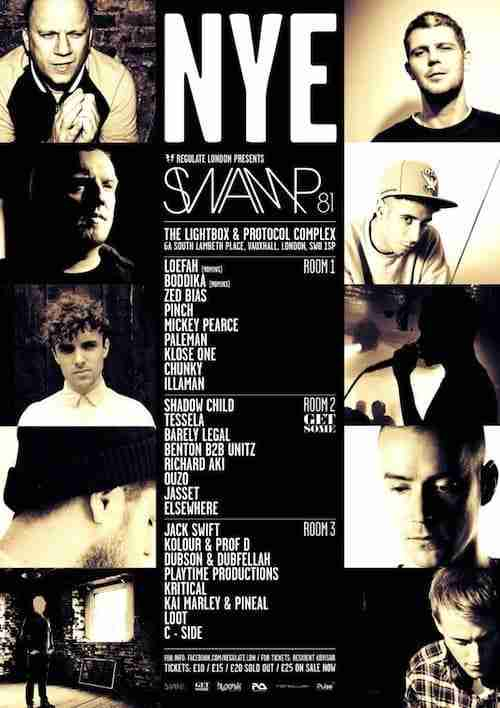 Win – 2 Tickets to Regulate presents Swamp81 NYE