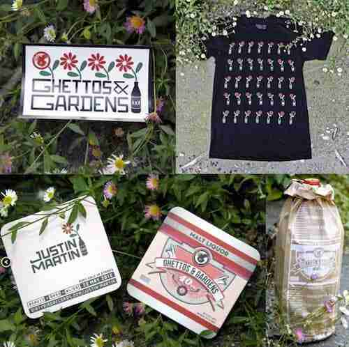 WIN – Justin Martin 'Ghettos & Gardens' Swag – CLOSED