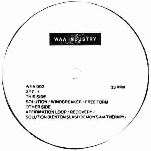 XYZ – Solution (Kenton Slash Demon's 4/4 Therapy)   New Music