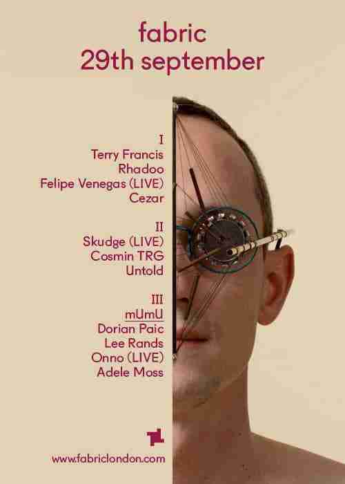 Win – x2 Tickets to FABRIC this weekend – Skudge (Live)